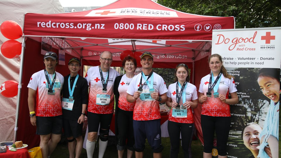 Team Red Cross 2017 Auckland Marathon