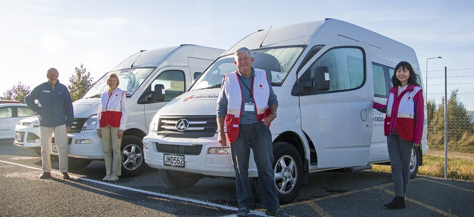 Community transport - new vehicle fleet in Christchurch