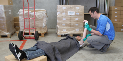 Workers can benefit from having trained first aiders in the workplace.