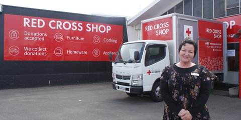 Invercargill Red Cross Shop coordinator Jan Cohen
