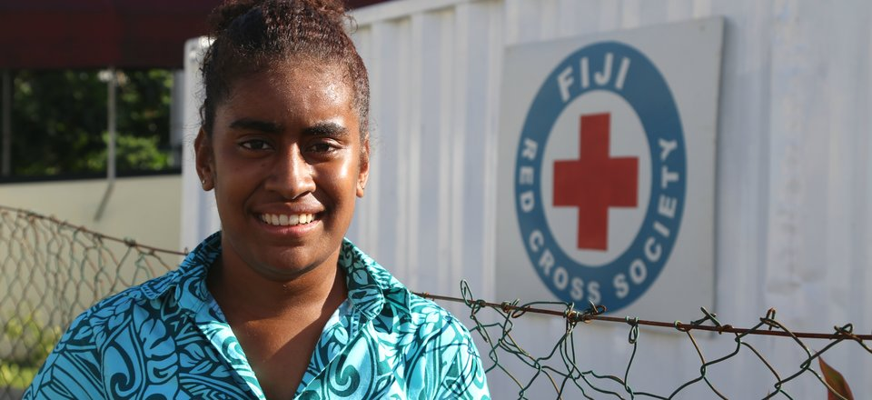 Fiji Red Cross volunteer Sita