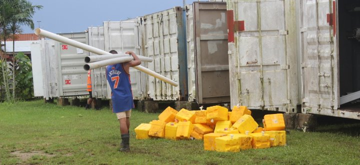 Preparations underway for Cyclone Amos, Samoa