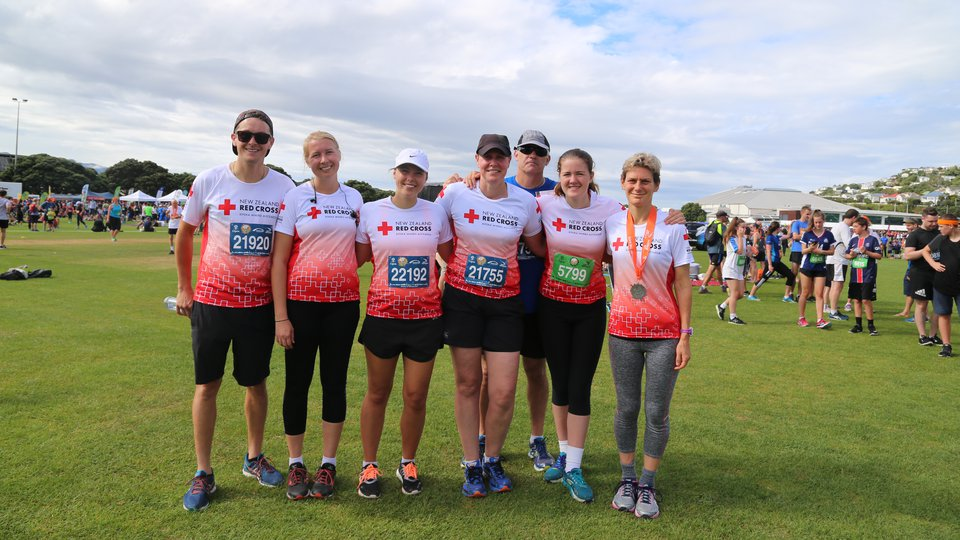 Team Red Cross Wellington Round the Bays2