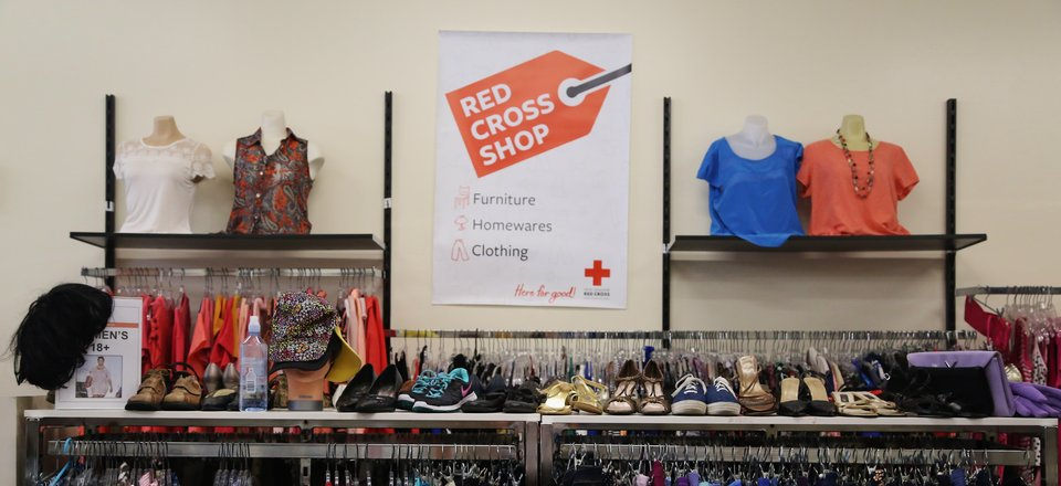 Red Cross shop - Petone