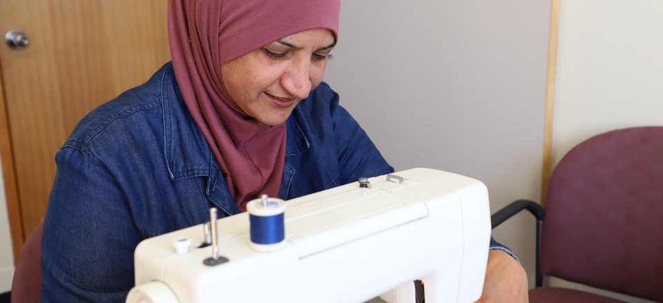 Fadwa sewing