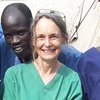 Aid worker Jenny Percival in South Sudan
