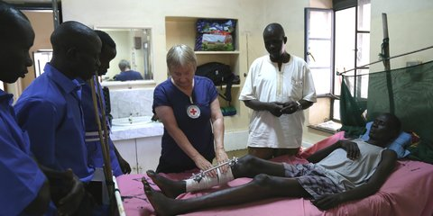 Judy Owen_Kiwi nurse South Sudan