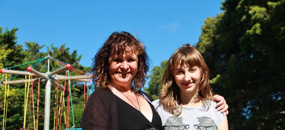 Karen and Katie Jones, Palmerston North volunteers
