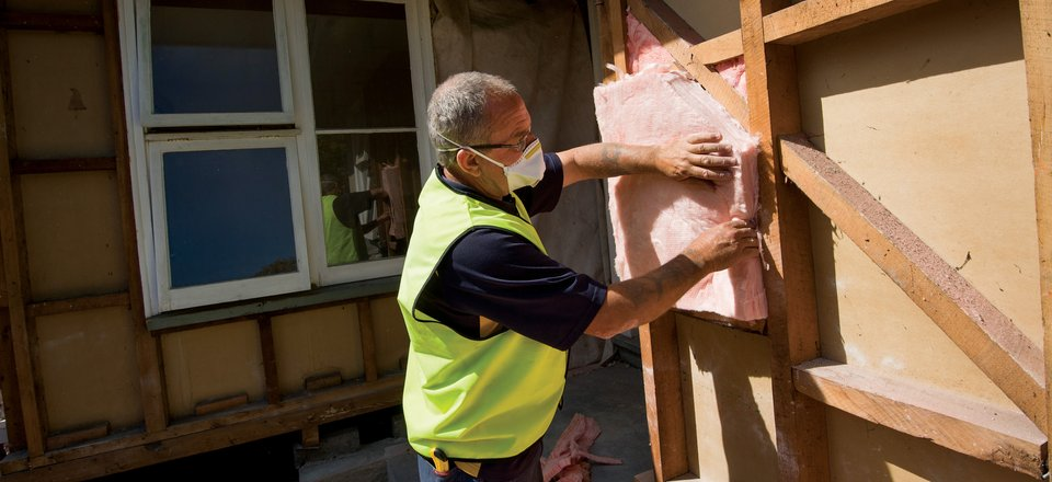 Home insulation in Canterbury