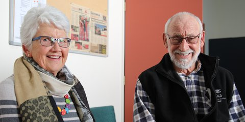 Mary and Allan Jones, Meals on Wheels drivers