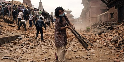 Second major earthquake hits Nepal