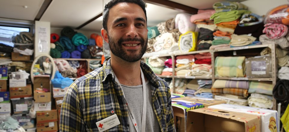 Nick - Red Cross social worker