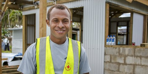 Fiji Red Cross volunteer Jo