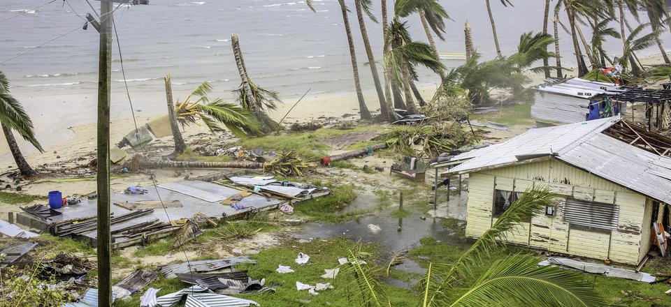 Cyclone Winston photo from Rakiraki, Fiji