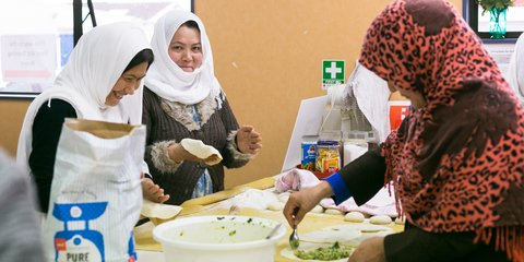 A group of former refugee women in Palmerston North have started their own catering business