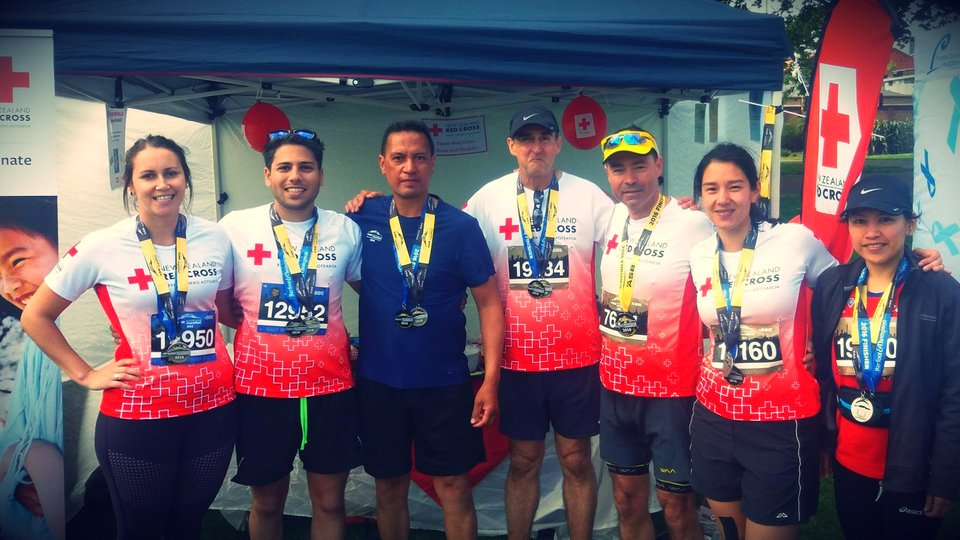 Team Red Cross Auckland Marathon 2016