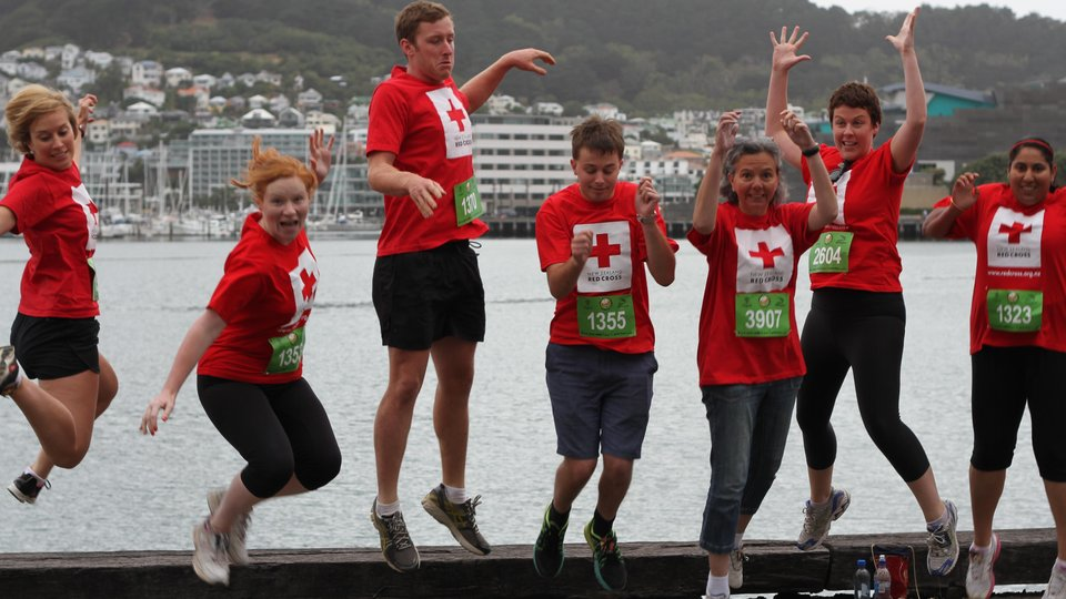 Team Red Cross Round the Bays Wellington
