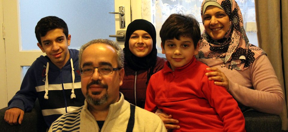 The Loulou family are enjoying life in Lower Hutt, after fleeing war in Syria.