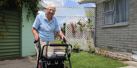 Vera Farrant Meals on Wheels beneficiary