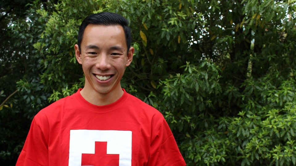 Will Tran has supported us by running for Red Cross.